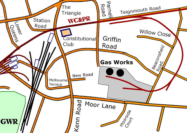 Gas Works detail map