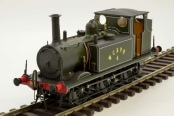Antics 0 gauge model of Terrier No 4 -  test decoration model