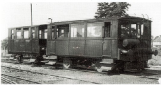 Drewry Railcar and trailer