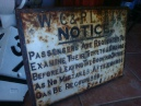 WCPR cast iron sign - Bob clifford.JPG