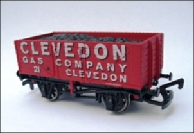 Clevedon Gas Company wagon model