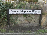 Colonel Stephens Way sign