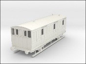 Ex-Great Eastern Railway 4-wheeled passenger brake van